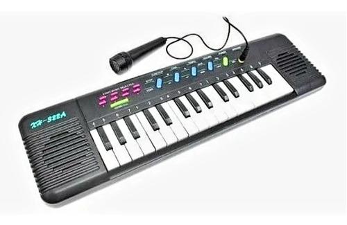 Teclado Piano Infantil Com Microfone Musical Educativo