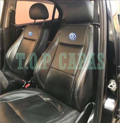 Capa Banco Carro 100% Couro Gol / Voyage G2 G3 G4 G5 G6 G7