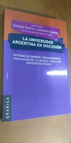 La Universidad Argentina En Discucion Libreria Merlin
