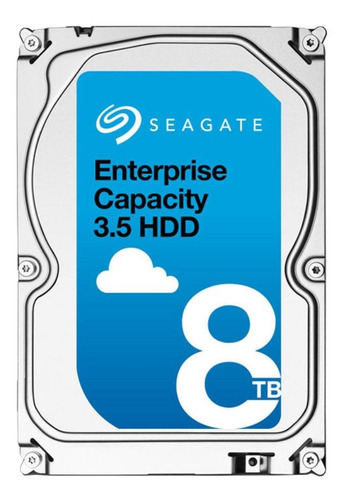 Disco Rígido Interno Seagate Enterprise Capacity St8000nm0055 8tb