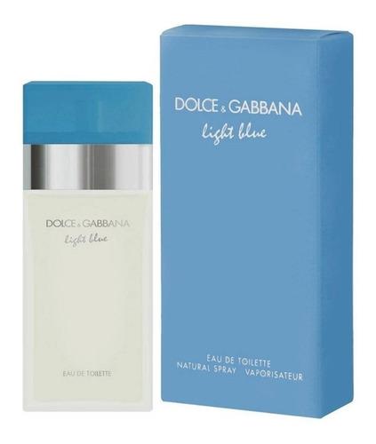 Locion Perfume Light Blue Dama D&g 100 - L a $1330