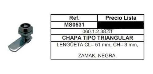 Chapa Triangular Para Gabinetes Electricos