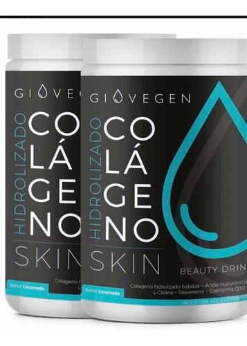 Giovegen Skin Colageno Hidrolizado X 2 Envases