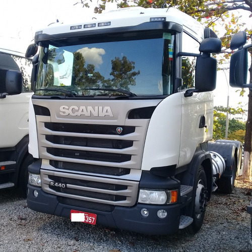 Scania R 440 6x2 18/18 Pouco Rodada Com Retarder 357