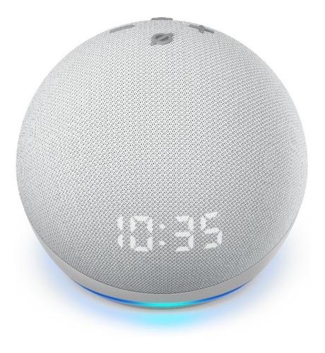 Echo Dot Amazon 4ª Geração Smart Speaker Com Relógio E Alexa