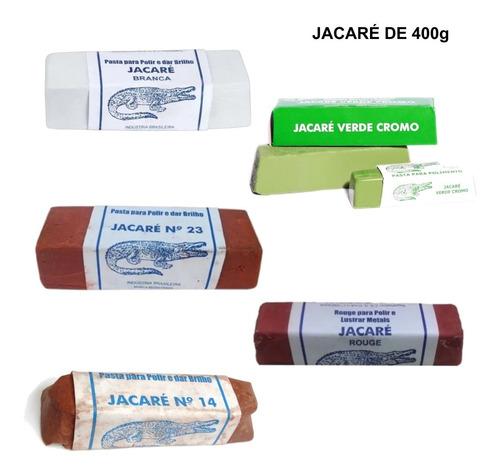 Pasta Polimento Afiação 400g Original Jacaré Ourives Varias