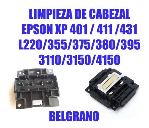 Limpieza De Cabezal Epson L3110 L3150 L4150