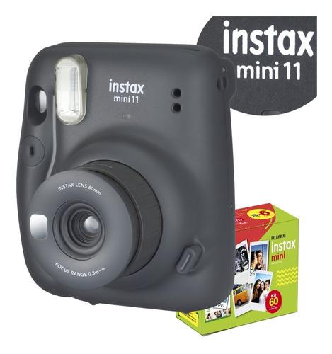 Câmera Instax Mini Filme 60 Fotos Combo Super Econômico