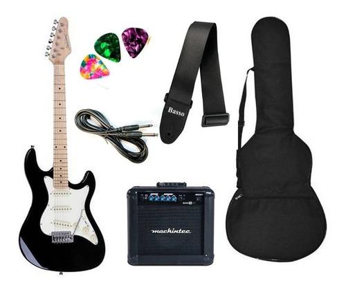 Kit Guitarra Strato Strinberg Sts100 + Amplificador Oferta!