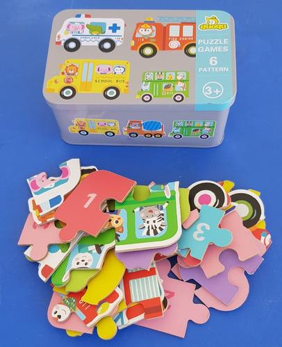 Puzzles Para Niños Recomendado A Partir De Los 3 Años!!