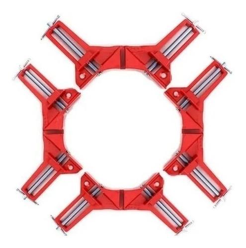 Prensa Esquinera Angular Carpintero Angulo 90º X 4 Unidades