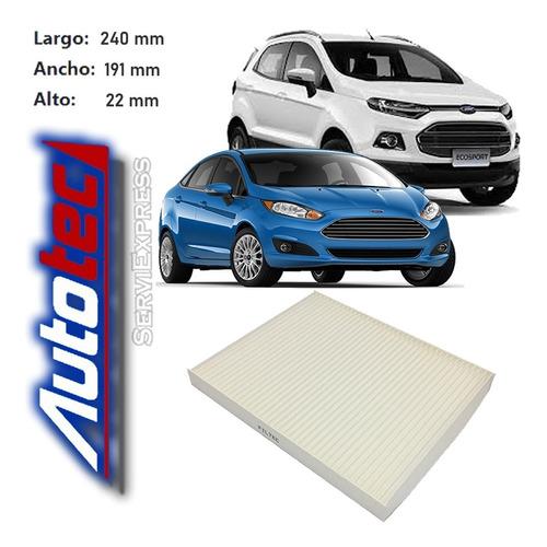 Filtro De Polen Ford Fiesta Y Ecosport Del 2012 Al 2018