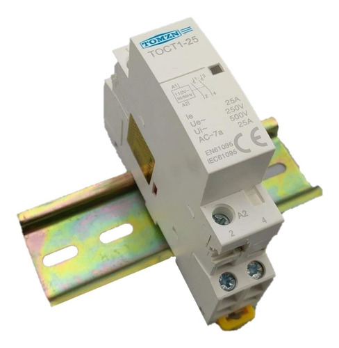 Contactor Relevador 25a 2 Fases 110v Motor Bomba Arduino