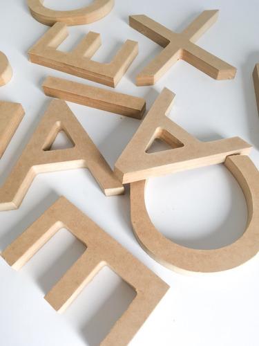 Decoración Interior Nombres Letras Números Corte En Madera