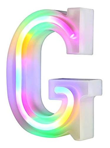 Lámparas De Luz Led En Formas De Letras Y Números