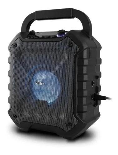 Caixa Acústica Philco Bluetooth 100rms Bivolt-recondicionado