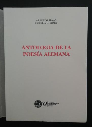 Alberto Haas - F. More - Antología De La Poesía Alemanas