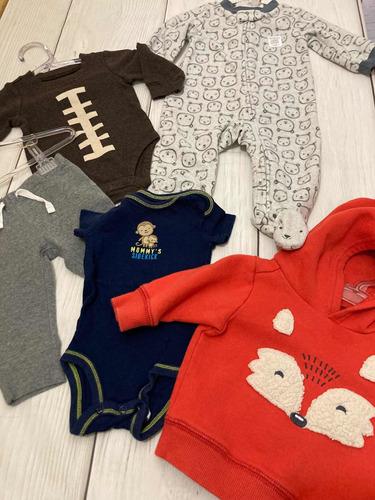 Lote Carters 5 Peças Bebê Menino E Menina Importado Eua