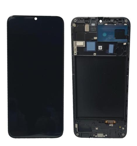 Tela Frontal Display Lcd A20 A205 Com Aro Novo Incell
