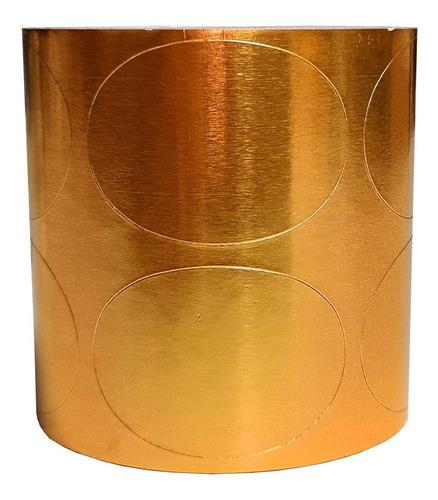 Etiqueta Para Presente Oval 27mmx38mm C/200 Unidades