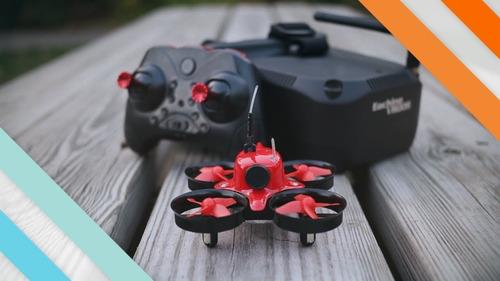 Drone Eachine E013 Com Cámara Hd Red