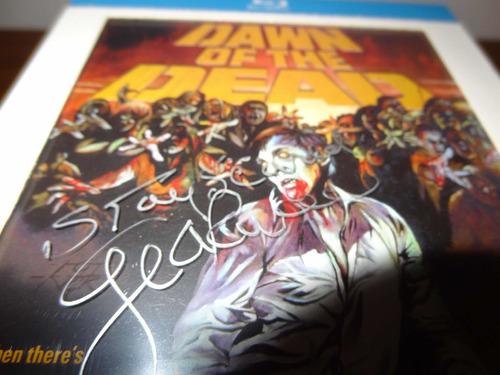 Dawn Of The Dead - Bd Arrow Autografado Por George Romero