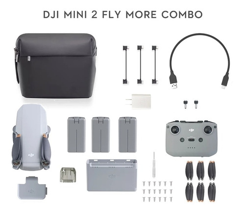 Dji Mini 2 Combo Fly More
