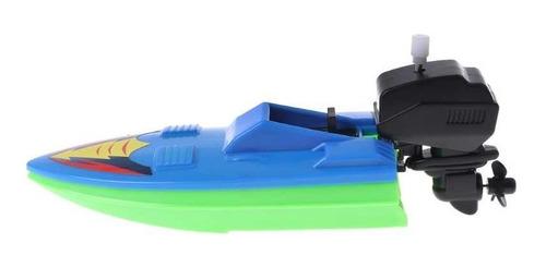 Barco A Motor De Brinquedo Outboard Boats A Corda 16 Cm