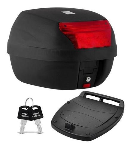 Baú Bauleto Moto 28 Litros Modelo Smart Box Todas Cores