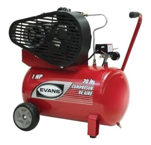 Compresor De Aire Eléctrico Portátil Evans E055me100-070 Monofásico 120v/220v