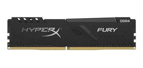 Memória Ram Fury Ddr4 Color Preto  8gb 1x8gb Hyperx Hx426c16fb3/8