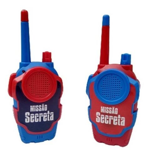 Brinquedo Walkie Talkie Radio Comunicador Para Crianças