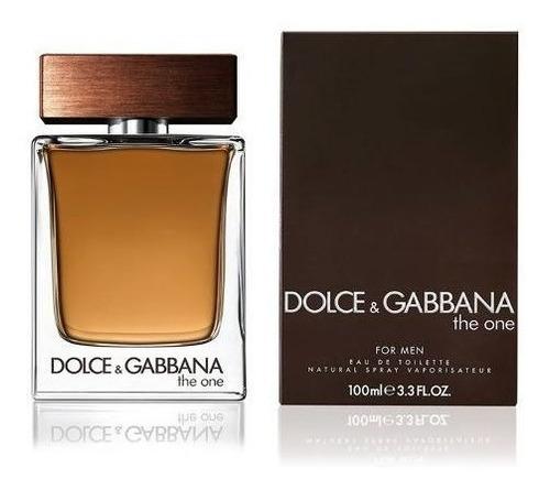 Perfume The One Edt 100ml Dolce Gabbana Oficial Oferta!