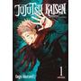 Mangá Jujutsu Kaisen Volume 1 Novo Lacrado 192 Páginas