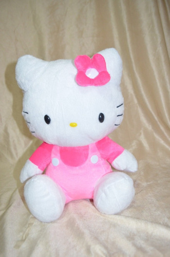 Hello Kitty De Pelúcia Macia E Antialérgica - Kiketel Original