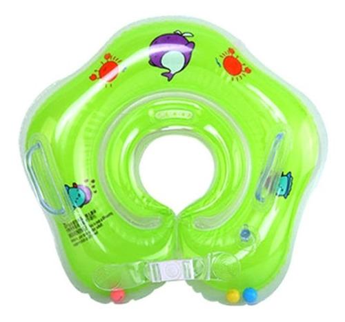 Boia De Pescoço Para Bebê Inflável Piscina Com Alça