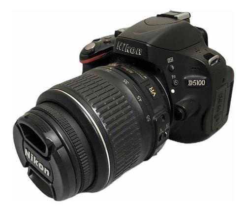 Câmera Nikon D5100 C Lente. 18:55 Seminova 9210 Cliques