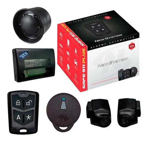 Alarme Automotivo Carro Safe 911 Plus Presença - New System