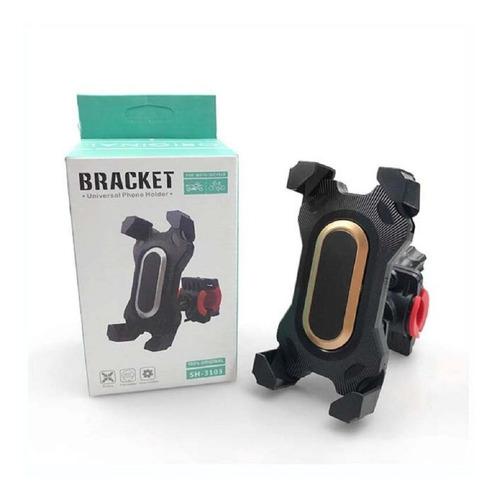 Soporte Porta Celular Moto Y Bicicleta Rotacion 360
