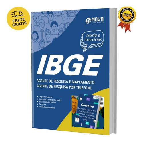 Apostila Agente De Pesquisa Ibge Mapeamento E Telefone
