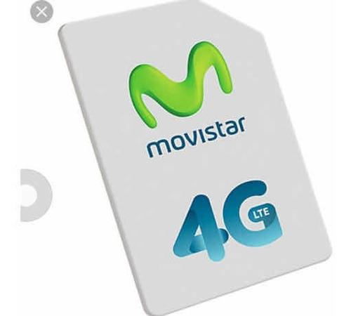 60 Chip 4g Lte Antel, Claro, Movistar Más Publicidad Envíos