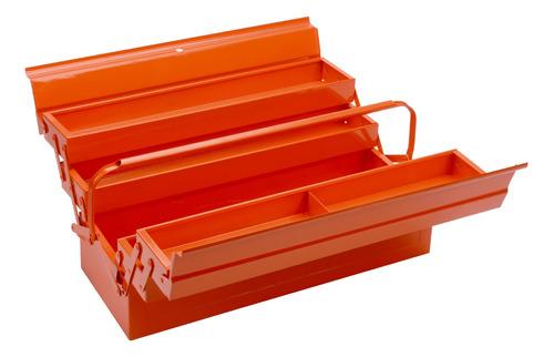 Caja De Herramientas Bahco 3149 De Metal 200mm X 530mm X 200mm Naranja