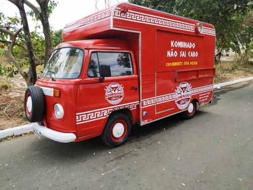 Food Truck Em Kombi Lanche (montagem Sem O Veículo)
