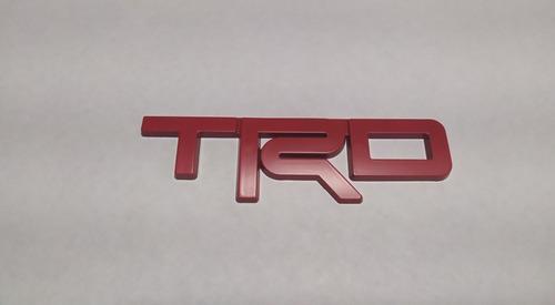 Toyota Trd Emblema  Parrilla Frontal