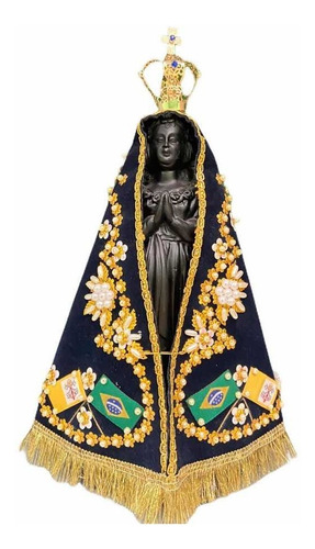 Imagem De Nossa Senhora Aparecida Réplica Da Original - 30cm