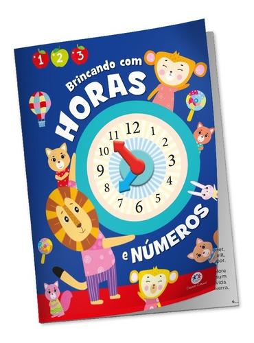 Livro Didático Atividades Relógio E Números Aprendendo Horas