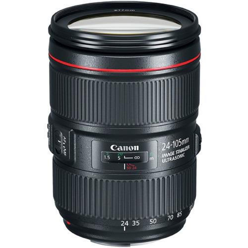Lente Canon Ef 24-105mm F/4l Is Ii Usm Garantia Novo