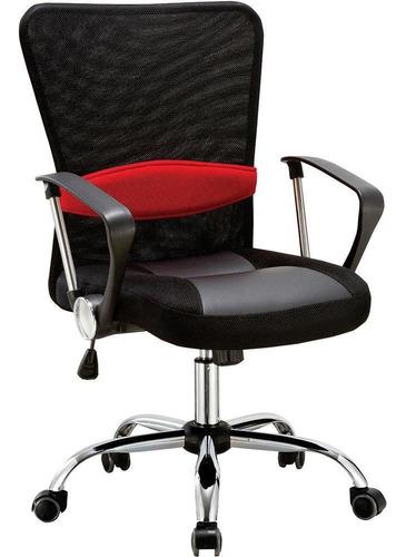Cadeira Diretor Pelegrin Pel-502 Giratória Em Tela Mesh