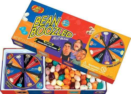 Jelly Belly Bean Boozled Spinner Juego De Mesa Y Dulces 3.5o