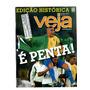 Revista Veja Edição Histórica É Penta Nº 1758 Ano 2002 7796